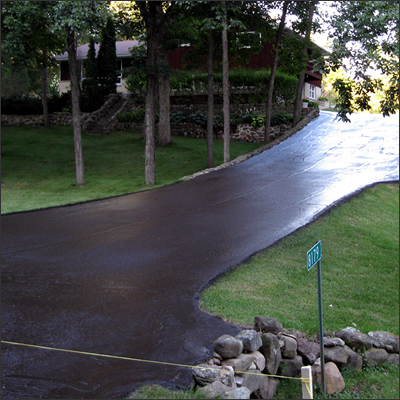 Asphalt Sealcoating Services and Repairs Wisconsin
